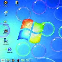 Screensaver Bubbles, 2006 © Stephen Coy / Windows Vista