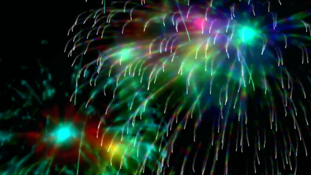 Fireworkx screensaver, Rony B Chandran